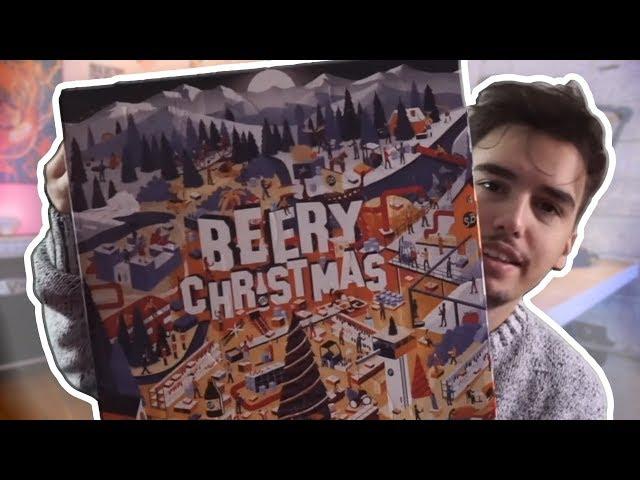BEERY CHRISTMAS CALENDARIO DELL'AVVENTO CON LE BIRRE!! ANCHE QUEST'ANNO É  NATALE! CHE SPETTACOLO