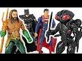 DC Justice League Aquaman, Superman, Batman VS Black Manta, Sea monster! #DuDuPopTOY