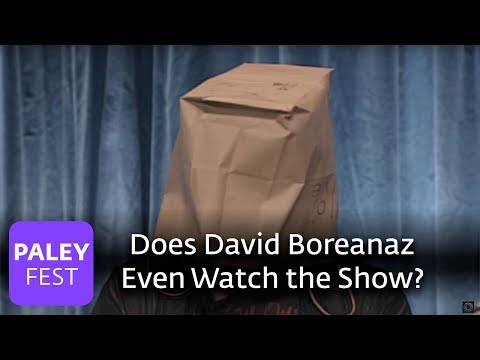 Bones  Does David Boreanaz Even Watch the ?