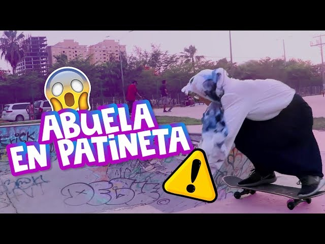 PELIGRO ⚠️ ABUELA SUELTA EN LA CALLE / Doña Lupis