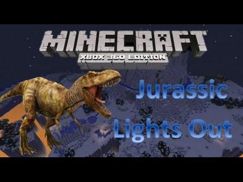 Minecraft Xbox 360 - Descargar Mapa - Jurassic Lights Out