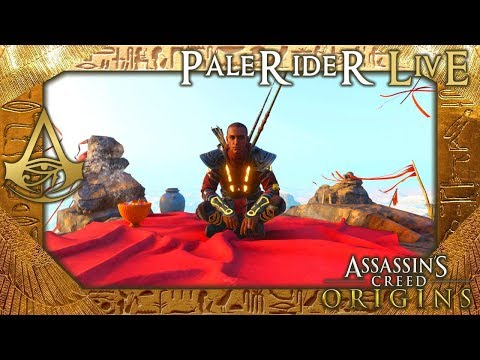 PaleRider Live: Assassin's Creed Origins - Achievement Goal Theory