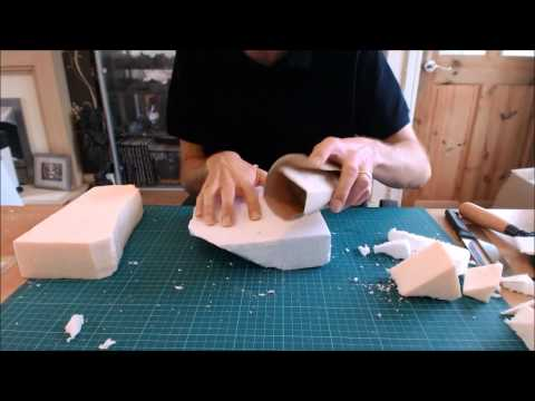 A guide to using Polystyrene (Styrofoam) to make wargaming s