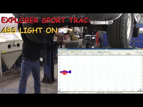 Ford Explorer Sport Trac: ABS Light On / WSS Signal I Can Not Explain??