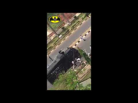 FCT Abuja Boils On Monday Morning ; As Shiite Members Destroy Police Armoured Tank