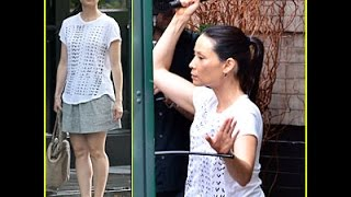 Lucy Liu Still Manages to Look Stylish While Fighting For 'Elementary