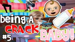 IMVU GAMEPLAY #5 | BEING A CRACK BABY!