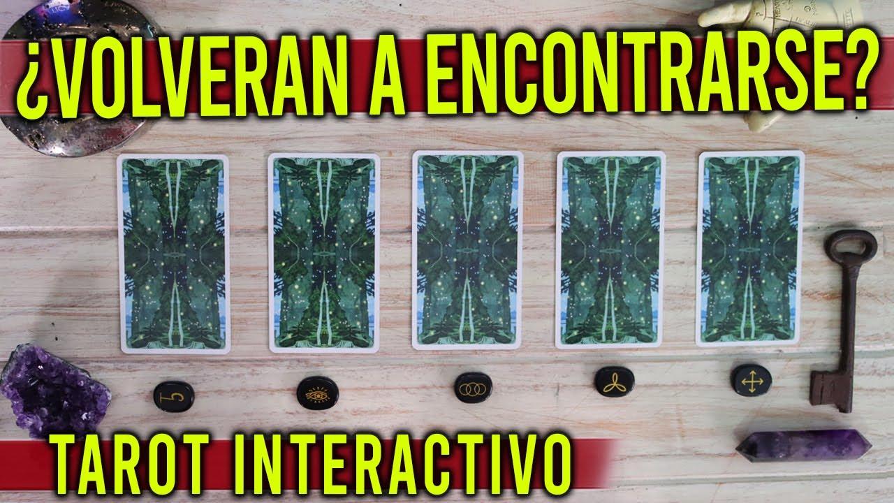 SE VOLVERÁN A ENCONTRAR? - Tarot interactivo 🔮✨