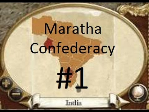 Empire: Total War #1 - Maratha Confederacy (2079) vs. Great Britain (1617) - Battle for Goa 1713