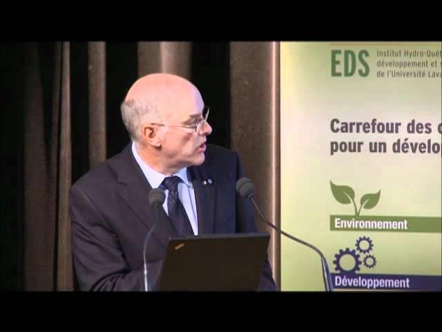 Louis Fortier - Changements climatiques et biodiversité en Arctique (2/4)