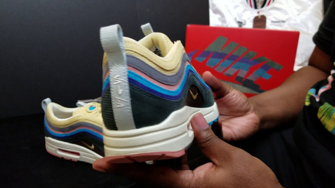 sports shoes 400da 6d9cf LIMITED AIR MAX 1 97 SEAN WOTHERSPOON DETAIL REVIEW