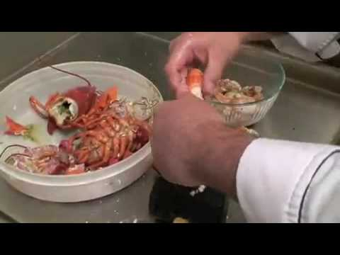 How To Make  Maine Lobster Roll CT Connecticut seafood Rest