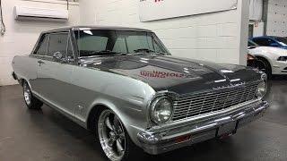 1965 Chevy II Nova  SOLD SOLD SOLD 2door hardtop Custom 383 Stroker 700 R transmission Munro Motors