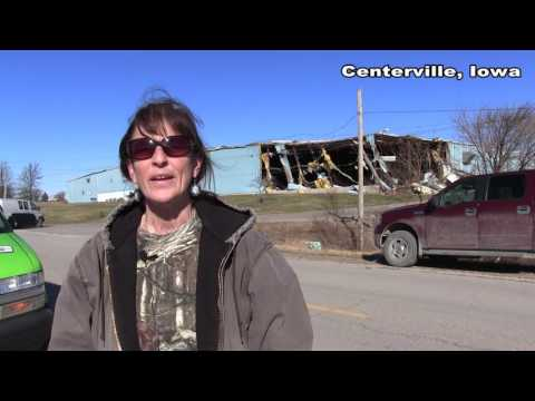 Tornadoes Devastate parts of Centerville and Seymour Iowa