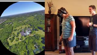 61-Year-Old Mom Plays Google Earth VR (HTC Vive)