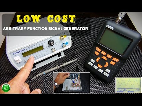 LOW COST Arbitrary Function/Waveform Signal Generator