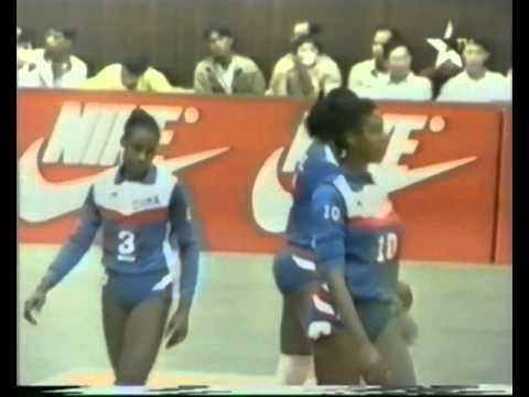1993 World Grand Prix Volleyball Bangkok Brazil Cuba