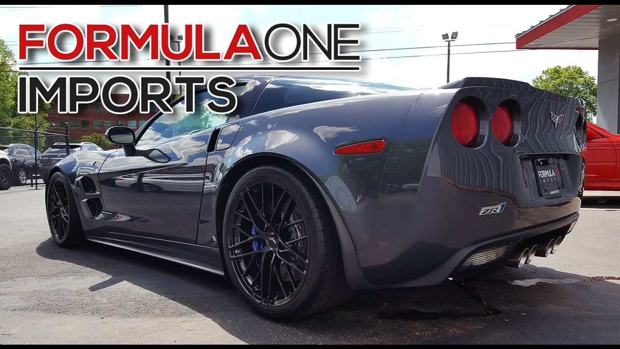 2009 chevrolet corvette zr1 for sale formula one imports charlotte youtube. Black Bedroom Furniture Sets. Home Design Ideas