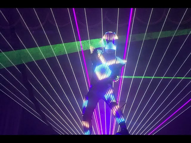 Laser Man Show - Tron Dance  promo
