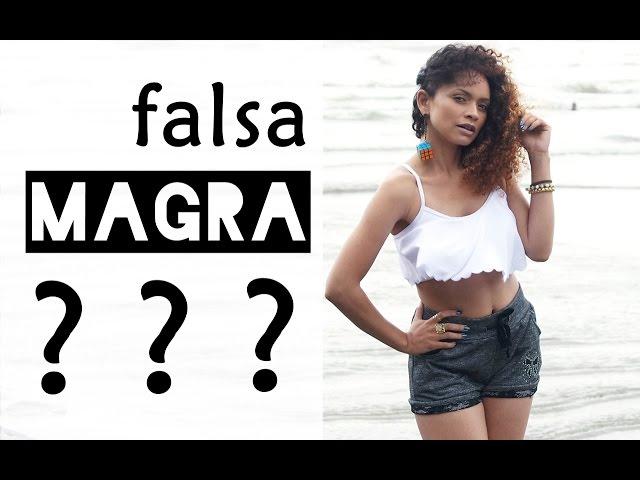 Como saber se você é uma falsa magra? #ProjetoFeFit