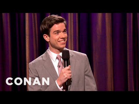 John Mulaney's Parents Don't Make For A Great Date  CONAN on TBS