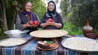 HOW TO MAKE ṪRADITIONAL AZERBAIJANI DUMPLINGS SOUP - DUSHBERE. BEST SOUP RECIPE