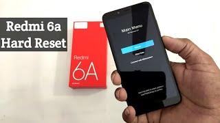 Redmi 6a Hard Reset | Pattern Unlock | Password Remove