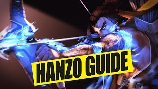 Overwatch HANZO Guide - (Tipps & Tricks Tutorial German Deutsch)