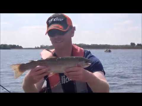 Draycote Water Fly Fishing August 2018