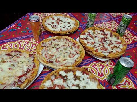 صورة  طريقة عمل البيتزا طريقة عمل البيتزا باسهل ما يمكن مثل بيتزا هت👌😍😎🌹👍💕🍔🍟💗 طريقة عمل البيتزا من يوتيوب