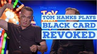 Том Хенкс і Тім Аллен міркує пані, Історія Іграшок 4 & чорні карти | Історія Іграшок 4 інтерв'ю