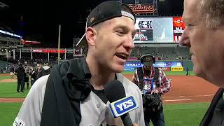 Todd Frazier on advancing to the ALCS against the Astros