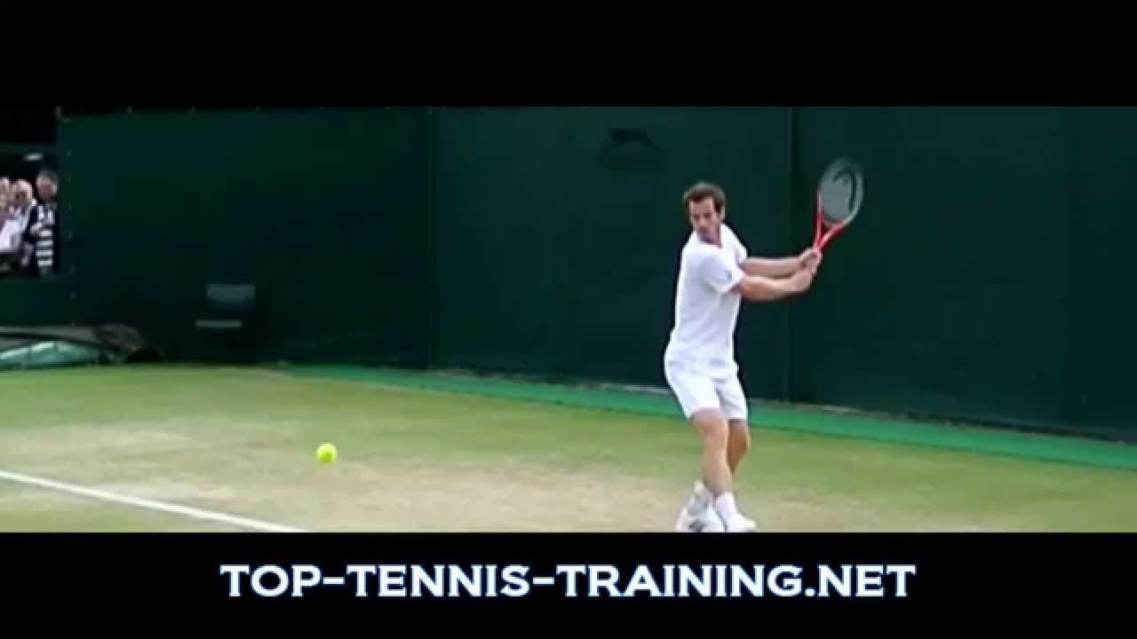 Andy Murray Backhand Slow Motion - YouTube