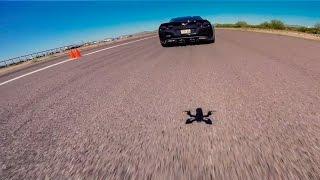 Drone VS. 1000+HP Corvettes - No Fly Zone Arizona
