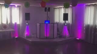 Installation Middle Party + option déco lumière