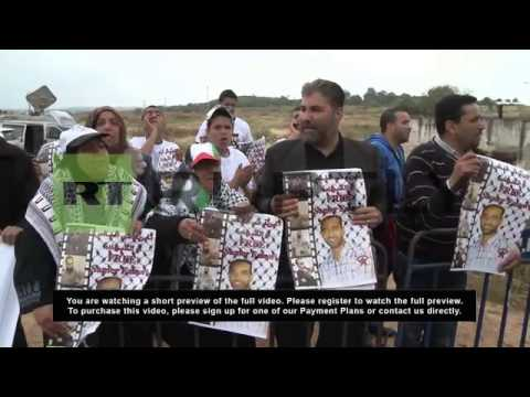 State of Palestine/Israel: Protesters hunger for Palestinian prisoners' release