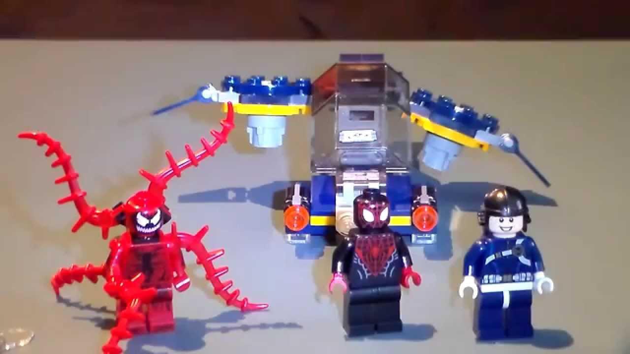 Lego spiderman carnage set