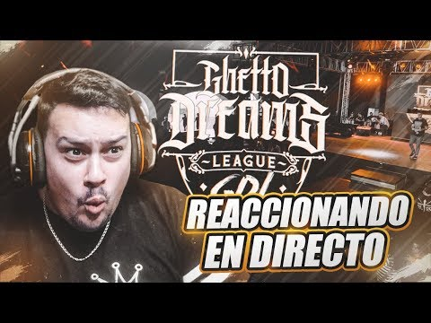 REACCIONANDO A TODA LA GUETTO DREAMS LEAGUE | ESTRIMO