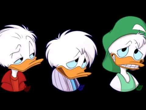 huey dewey and louie quack pack