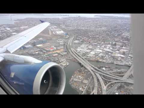 Delta Air A320 Takeoff from LaGuardia Airport