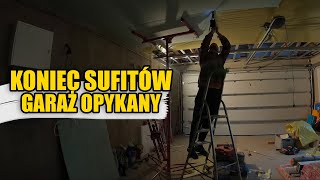 SKOŃCZYŁEM SUFITY W NASZYM DOMU  |  Sufit podwieszany w garażu