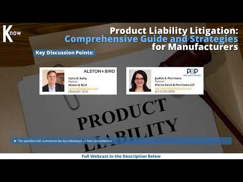 Product Liability Litigation