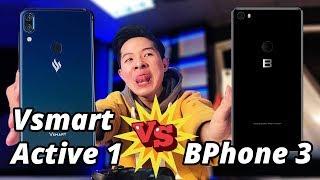 VSMART ACTIVE 1 VS BPHONE 3: ĐẠI CHIẾN HIỆU NĂNG!!