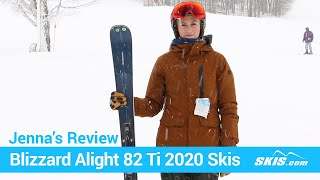 Blizzard Alight 8.2 Ti Womens Skis with TPX 12 Bindings