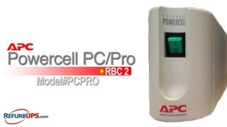 rbc2 battery replacement for apc powercell pc pro
