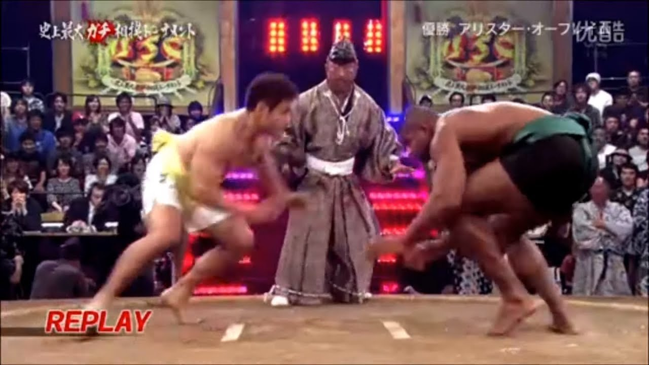 Video Alistair Overeem And Other Jmma Stars In Sumo