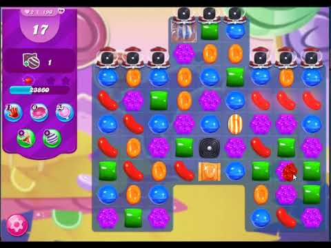 candy-crush-saga-level-190(25-moves)-must-watch-for-pass-the-level-without-using-any-boosters