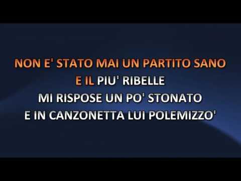Stefano Rosso - Una Storia Disonesta (Video karaoke)