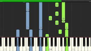 C茅sar Franck - Panis Angelicus (O Lord Most Holy) - Piano Backing Track Tutorials - Karaoke