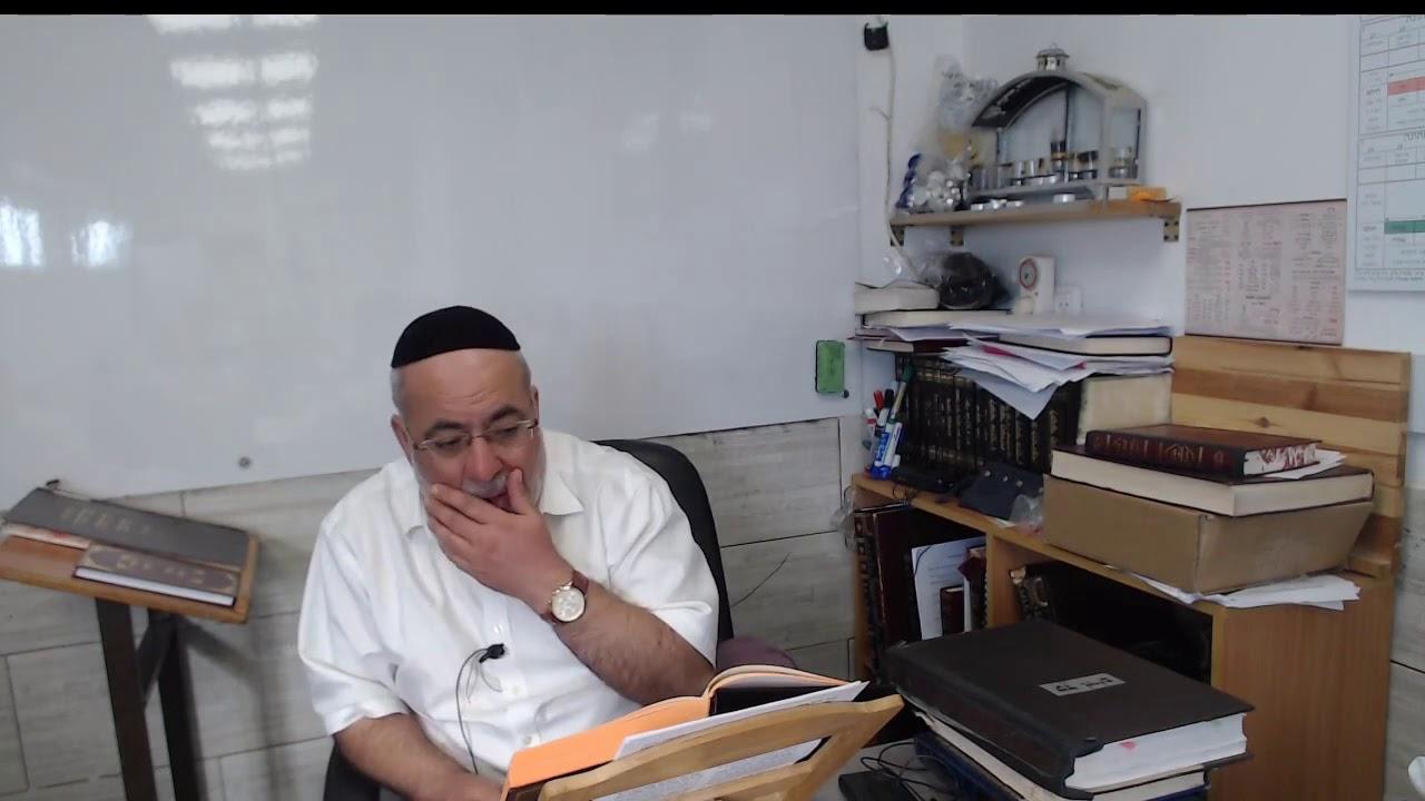 הרב יהודה 02 פרשת מסעי אור החיים הקדוש